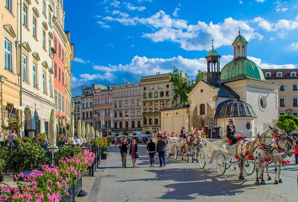 Cab Wagon Europe Polga Horse Center Krakow Area