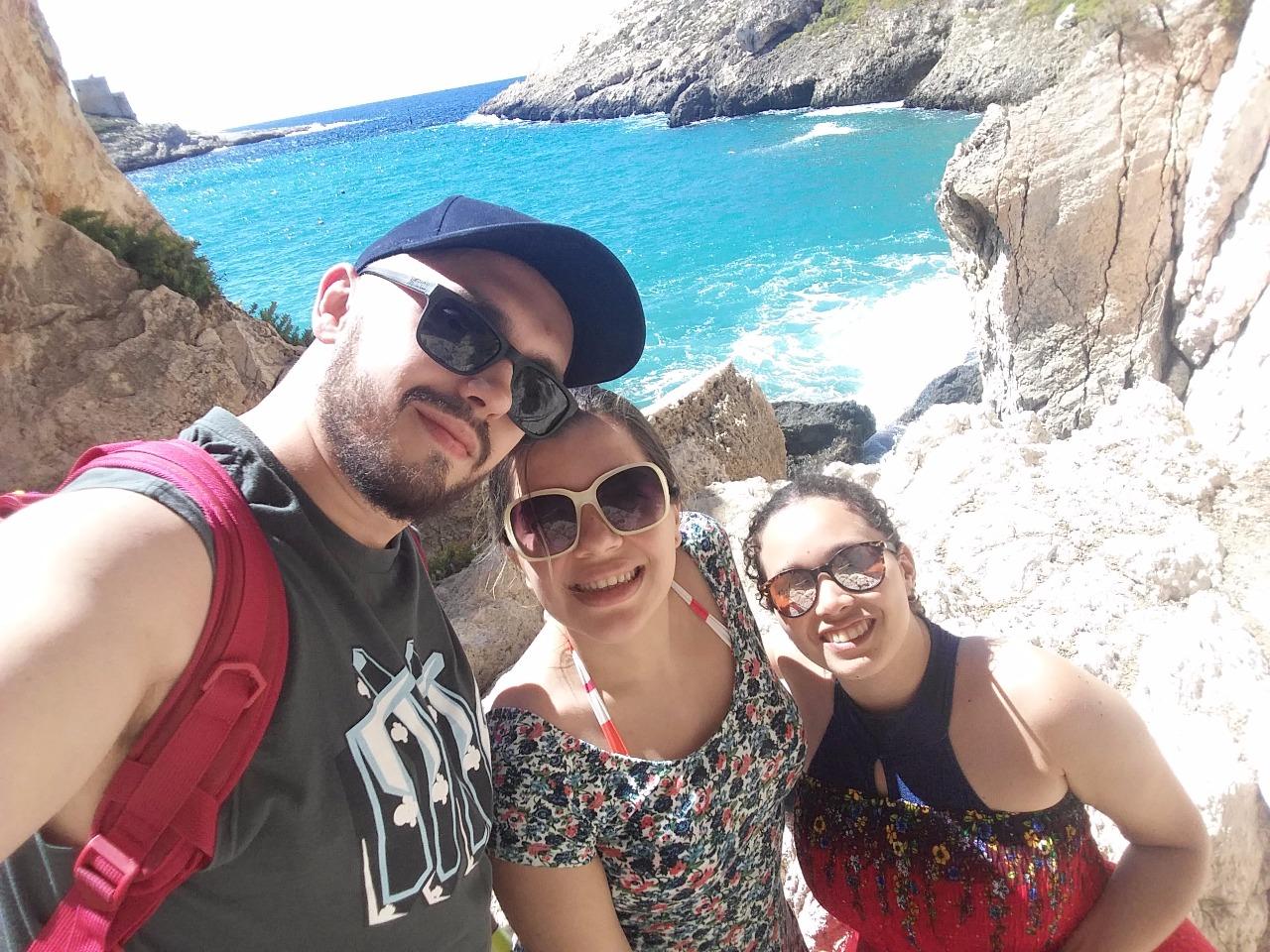 Felipe, Marina e Jessica