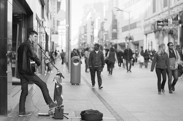 músicos na Irlanda